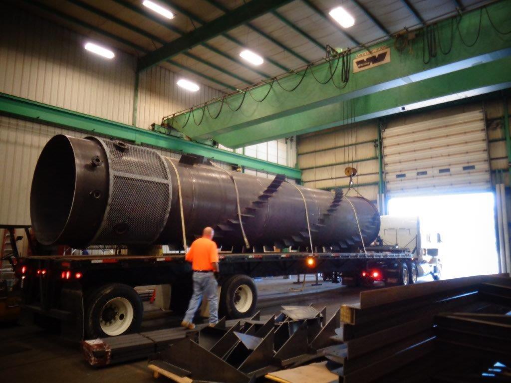 Ce Boiler Stack Replacement Swanton Welding
