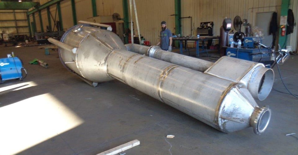 Custom Fabrication Project Of A Converter By Swanton Welding