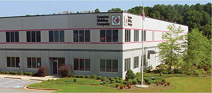 Swanton Welding's Griffin, GA Facility for custom fabrication and robotic welding