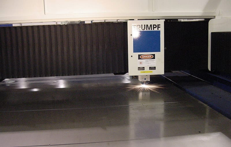 Trumpf Laser cutter at Swanton Welding